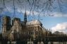 Catedrala Notre-Dame peisaj de toamna