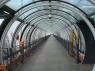 Interiorul tunelului de acces