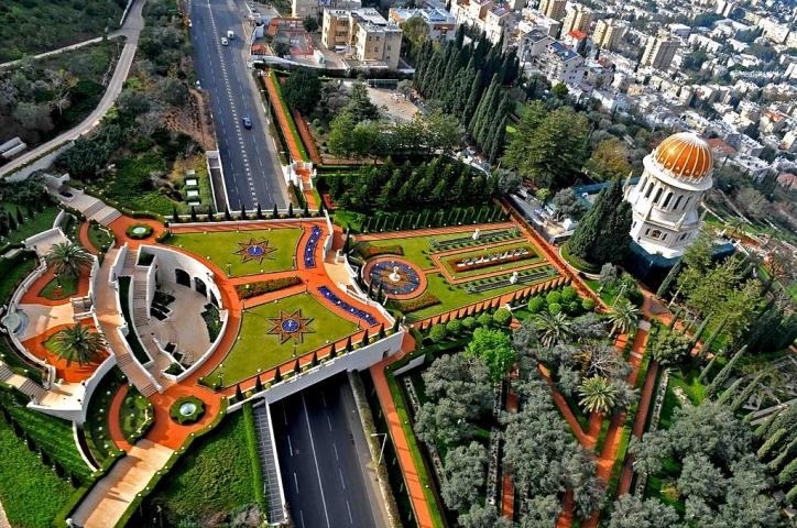 Templul Baha   I Si Gradinile Suspendate Din Haifa