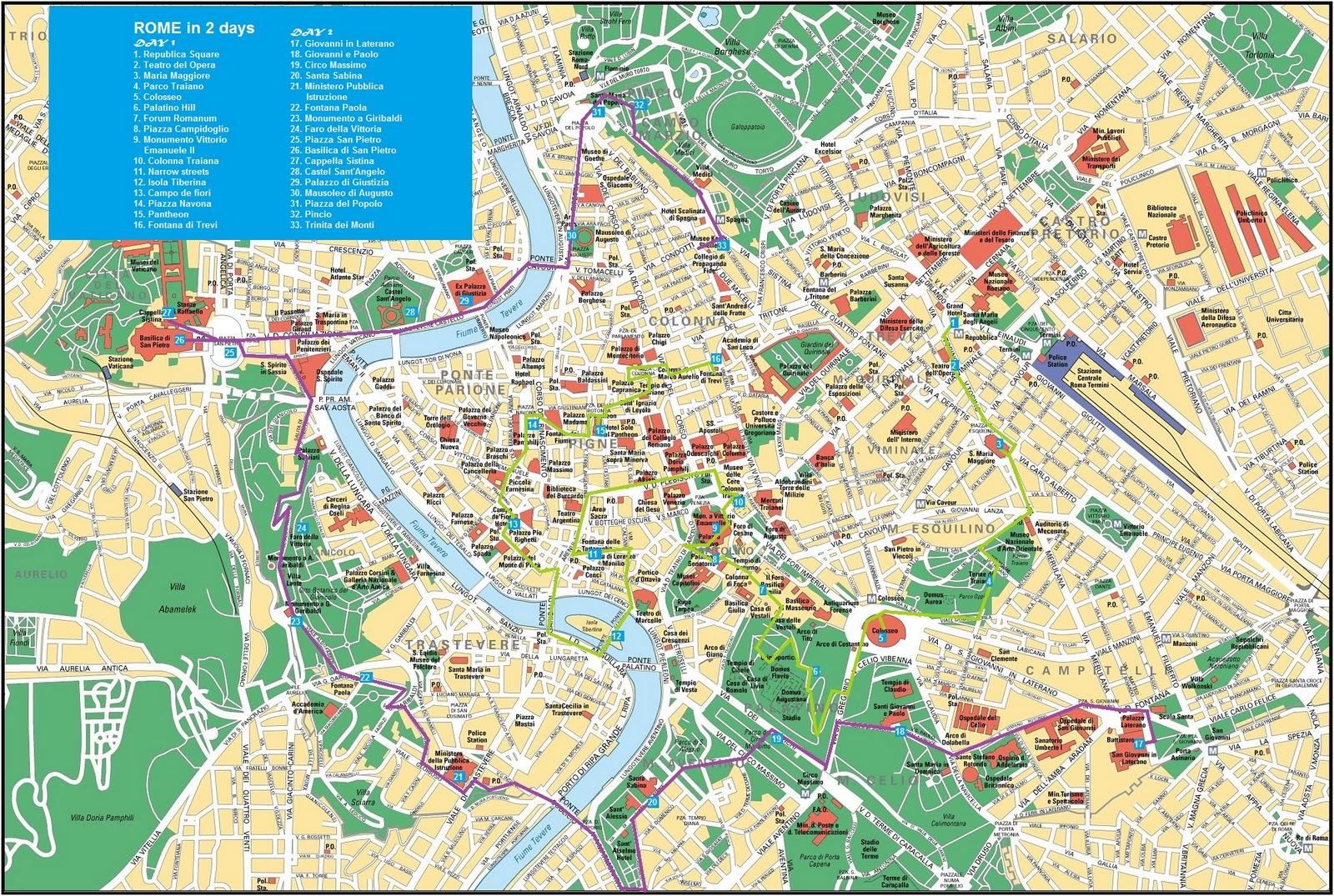 Obiective Turistice Ghid Turistic Roma