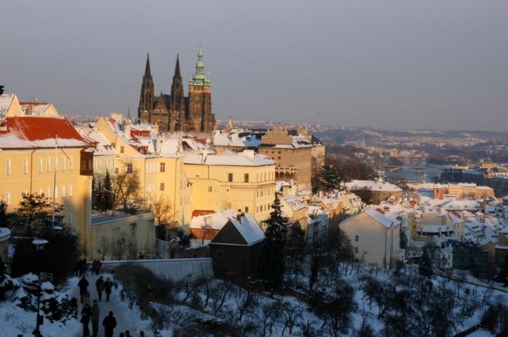 foto Mikulas, Vanoce, Silvestr - Praga