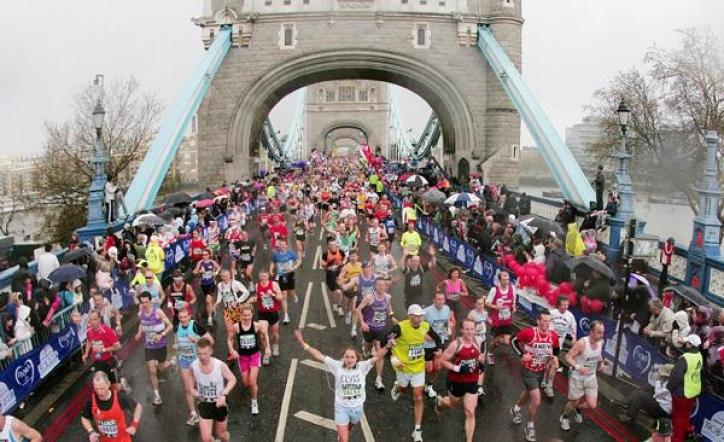 foto Maratonul Londonez (London Marathon)