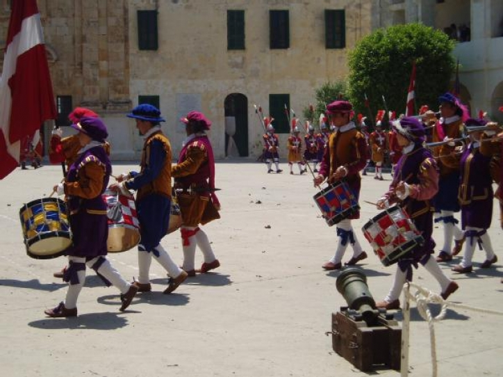 foto Paradele Garzilor (In Guardia Parade) - Valetta