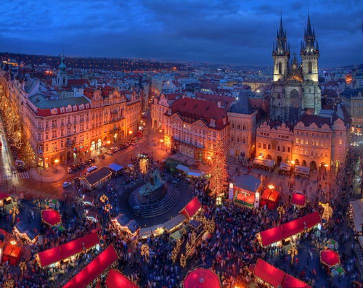 foto Piata de Craciun - Praga