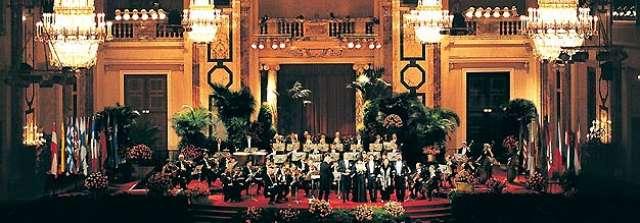 foto Concert de Craciun la Palatul Imperial Hofburg din Viena