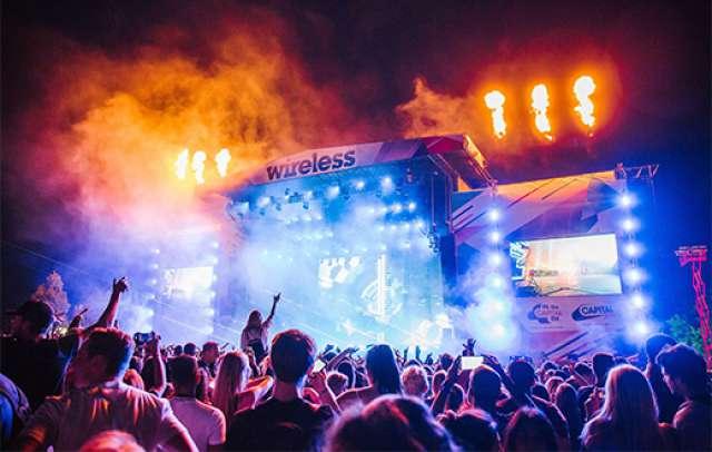 foto Wireless Festival la Frankfurt