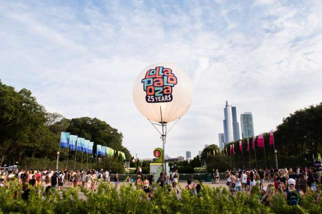 foto Festivalul Lollapalooza la Paris