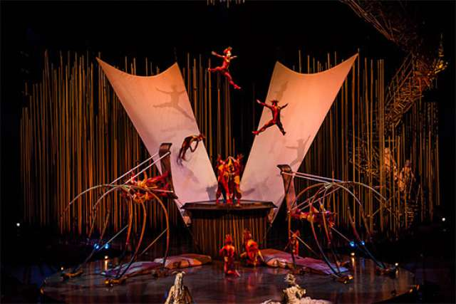 foto Cirque du Soleil - Varekai la Budapesta