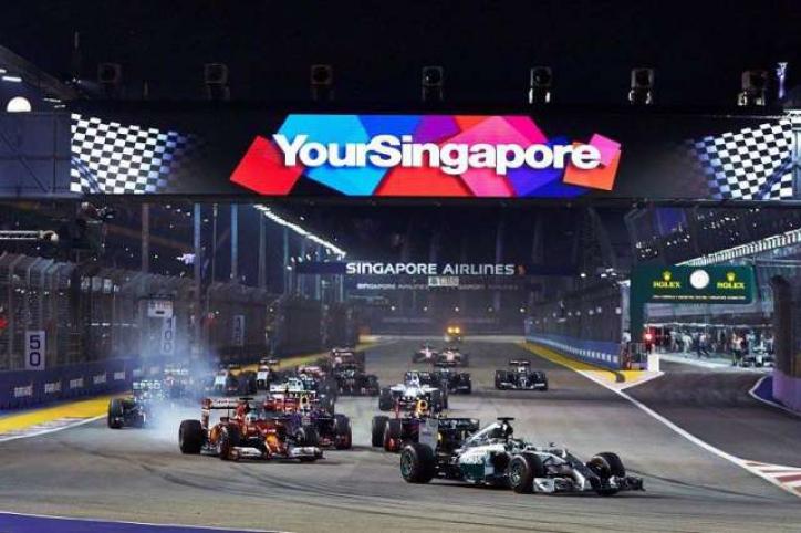 foto Formula 1 Singapore