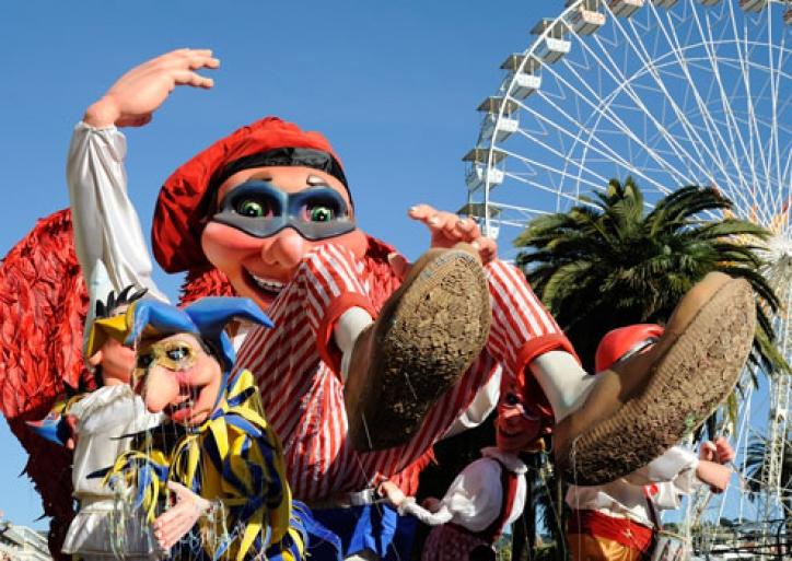 foto Carnavalul de la Nisa