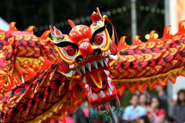 foto Anul Nou Chinezesc in Hong Kong