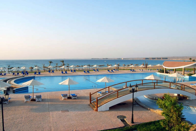 La plaja in Egipt 7 nopt  all inclusive 659 euro/pers!Old Palace Sahl Hasheesh5*