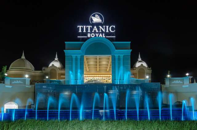 HURGHADA HOTEL TITANIC ROYAL 5* ALL INCLUSIVE AVION SI TAXE INCLUSE TARIF 579 EURO