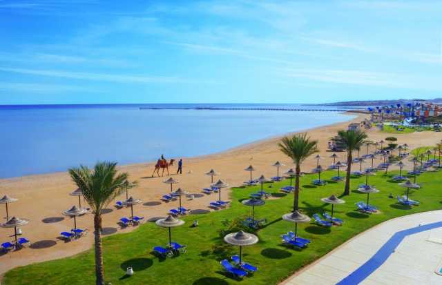 Last minute Egipt! JAZ AQUAMARINE RESORT HURGHADA 5* all inclusive 532 euro/pers