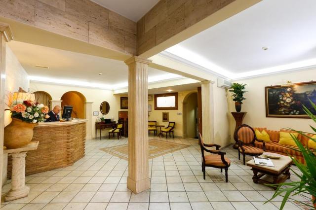 Hotel Tempio Di Pallade A Roma