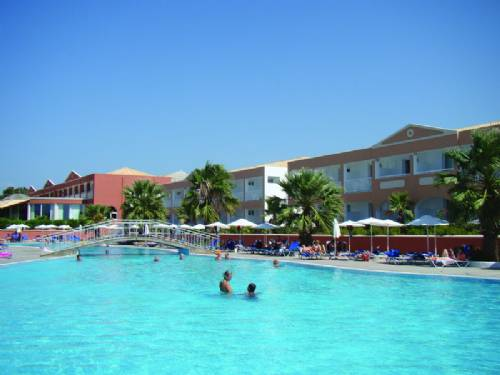 Hotel Aquis Sandy Beach Resort Sejur Corfu Grecia Avion