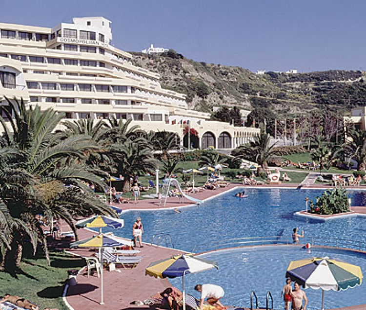Hotel Cosmopolitan Rodos Grecia Sejur Avion Bucuresti