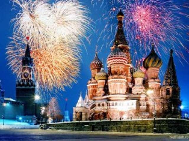 новый год в россии фото