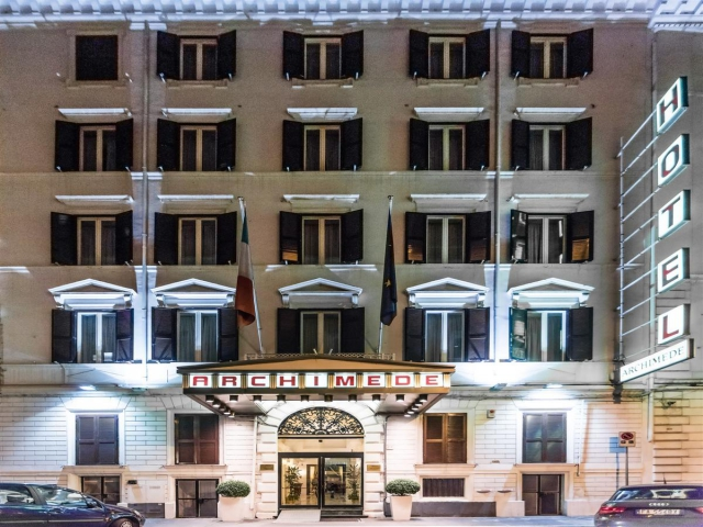 City Break Roma - Hotel Archimede 3*/mic dejun, bilet de avion si taxe incluse la 195€/loc in DBL/4nopti
