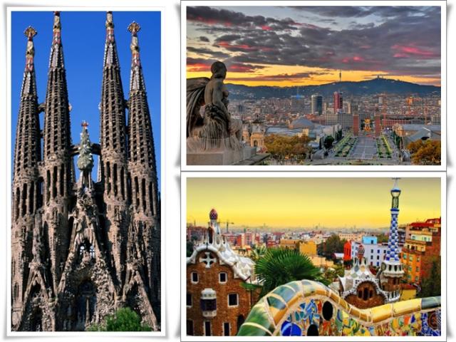 Ziua Femeii la Barcelona,avion si taxe incluse,de la 295 euro!!