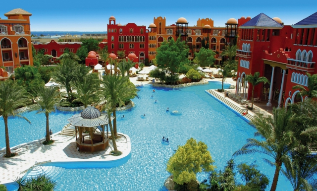 Plecare din CLUJ: Hurghada, The Grand Hotel Resort 5*, All Inclusive, bilet avion, taxe incluse la 419€/loc in DBL